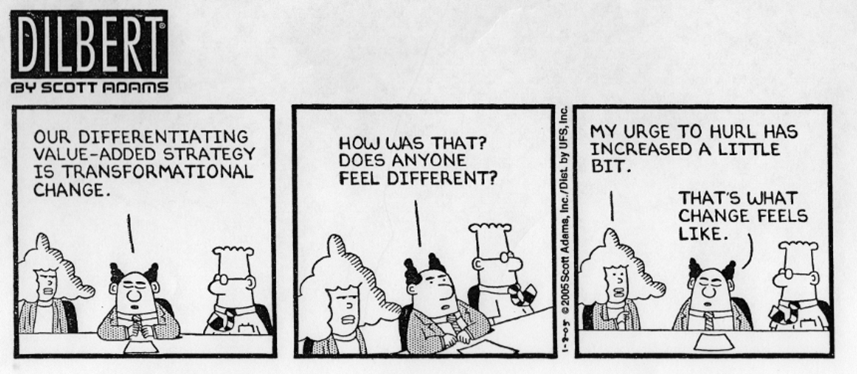 Dilbert Beyond Lean